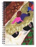 Autumn Hayride Spiral Notebook