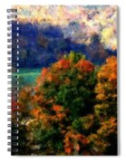 Autumn Hedgerow Spiral Notebook