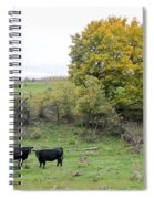Autumn Herd Spiral Notebook
