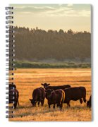 Autumn Herd Spiral Notebook