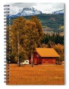 Autumn Hideaway Spiral Notebook