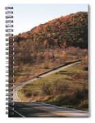 Autumn Hill Near Hancock Maryland Spiral Notebook