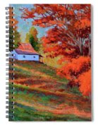 Autumn Hillside Spiral Notebook