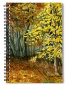Autumn Hollow I Spiral Notebook