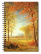 Autumn In America Spiral Notebook