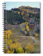 Autumn In Aspen Spiral Notebook