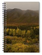 Autumn In August Brooks Range Alaska Spiral Notebook