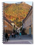 Autumn In Brasov Spiral Notebook