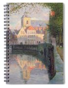 Autumn In Bruges Spiral Notebook