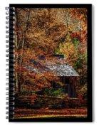 Autumn In Cades Cove Smnp Spiral Notebook