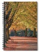 Autumn In Clifton, Bristol Spiral Notebook