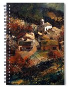 Autumn In Frahan Spiral Notebook