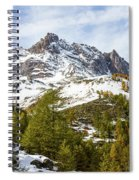Autumn In French Alps - 18 Spiral Notebook