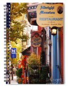 Autumn In Jim Thorpe Spiral Notebook