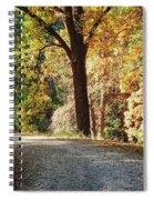 Autumn In Michigan Spiral Notebook