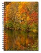 Autumn In Monroe Spiral Notebook
