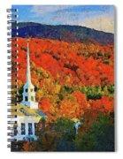 Autumn In New England - 04 Spiral Notebook