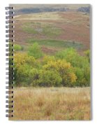 Autumn In Slope County Spiral Notebook