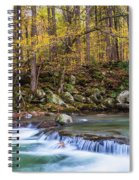 Autumn In Smoky Mountains National Park  Spiral Notebook