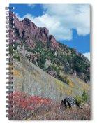 Autumn In The Aspen Hills Spiral Notebook
