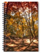 Autumn In The Dunes Spiral Notebook