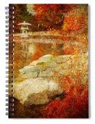 Autumn In The Gardens Spiral Notebook