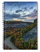 Autumn In The Gorge Spiral Notebook