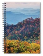 Autumn In The Great Smoky Mountains Spiral Notebook
