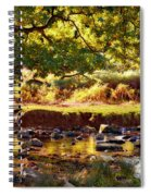 Autumn In The Valley Spiral Notebook
