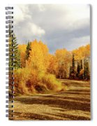 Autumn In The North Spiral Notebook