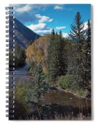 Autumn In The Rockies Spiral Notebook