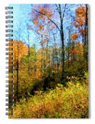 Autumn In The Tennessee Hills Spiral Notebook