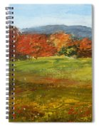 Autumn Is Here Spiral Notebook