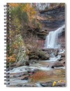 Autumn Kaaterskill Falls Square Spiral Notebook