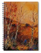 Autumn Landscape 45 Spiral Notebook