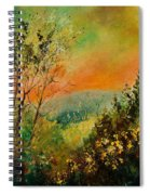 Autumn Landscape 5698 Spiral Notebook