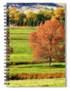Autumn Landscape Dream Spiral Notebook