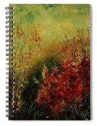Autumn Lanfscape Spiral Notebook