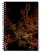 Autumn Leaf Dance Spiral Notebook