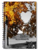 Autumn Love  Spiral Notebook
