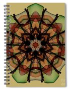 Autumn Mandala Spiral Notebook