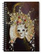 Autumn Mask Spiral Notebook