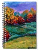 Autumn Meadow Spiral Notebook