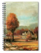 Autumn Memories Spiral Notebook