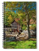 Autumn Mill 2 Spiral Notebook
