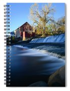 Autumn Mill Portrait Spiral Notebook