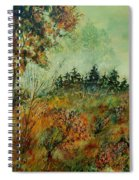 Autumn Mist 68 Spiral Notebook