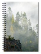 Autumn Mist Spiral Notebook