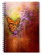 Autumn Monarch Spiral Notebook