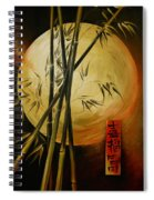Autumn Moon Spiral Notebook